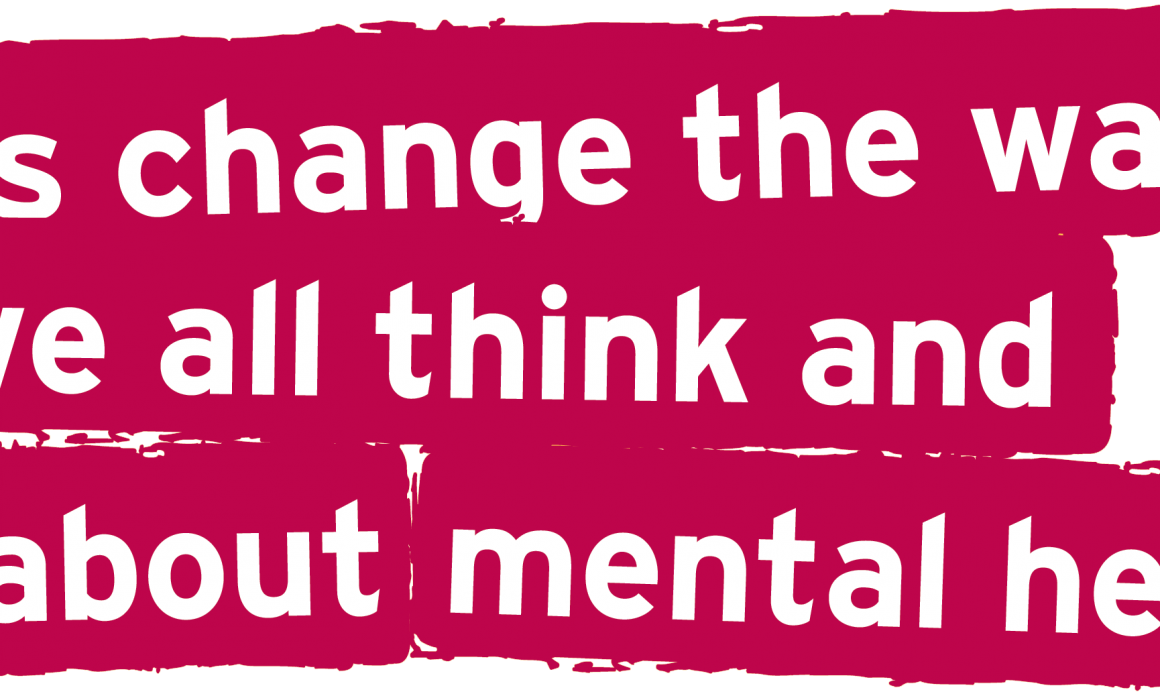 Let's change the way we think and act about mental health